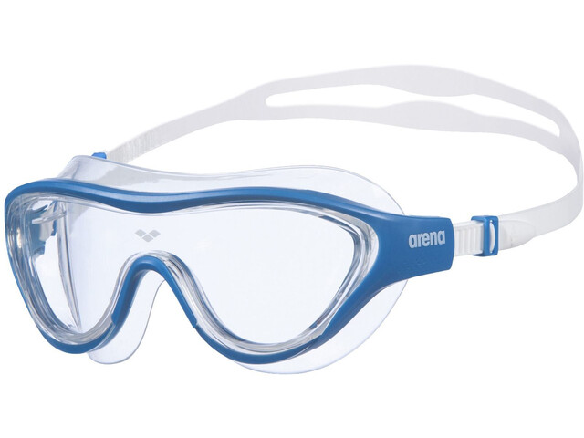 arena The One Maske, clear/blue/white